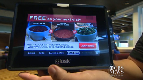 Tabletop Tablets Changing Restaurant Service