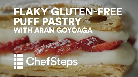 Flaky Gluten-Free Puff Pastry