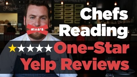 Popular Chefs Read 1-Star Reviews