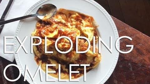 Watch This Exploding Omelet