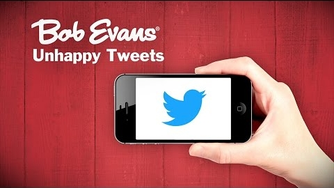 Bob Evans Restaurants: Unhappy Tweets