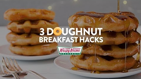 Doughnut Breakfast Hacks