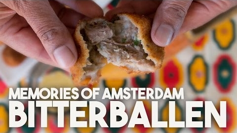 Bitterballen: Crispy Dutch Treat with a Soft Meat Center