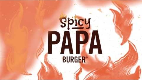 A&W's Spicy Papa Burger