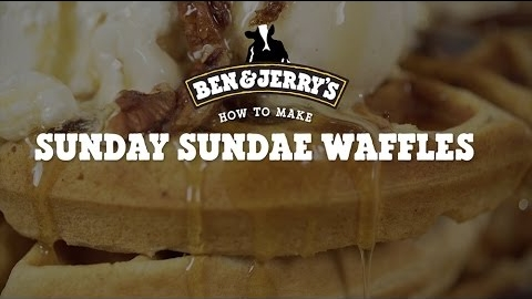 Ben & Jerry's Sunday Sundae Waffles