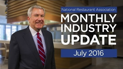 Restaurant Industry Update - July 2016