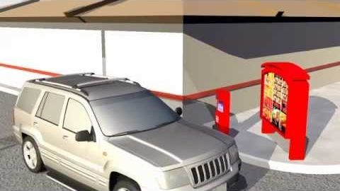 Drive-Thru Vehicle Sensor