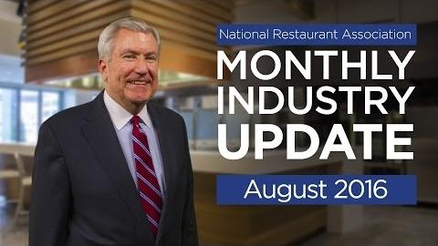 Restaurant Industry Update - August 2016